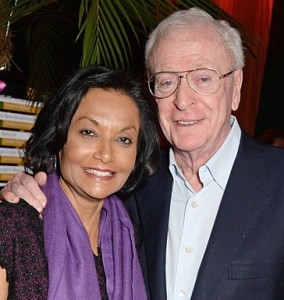 Sir Michael and Lady Caine